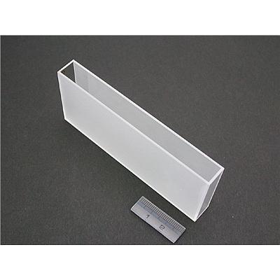 100mm光程玻璃比色皿RECTANG.CELL,100MM(G),用于UV-2450/UV-2550